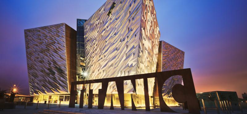 Goboony Northern Ireland H2 Titanic Belfast Museum