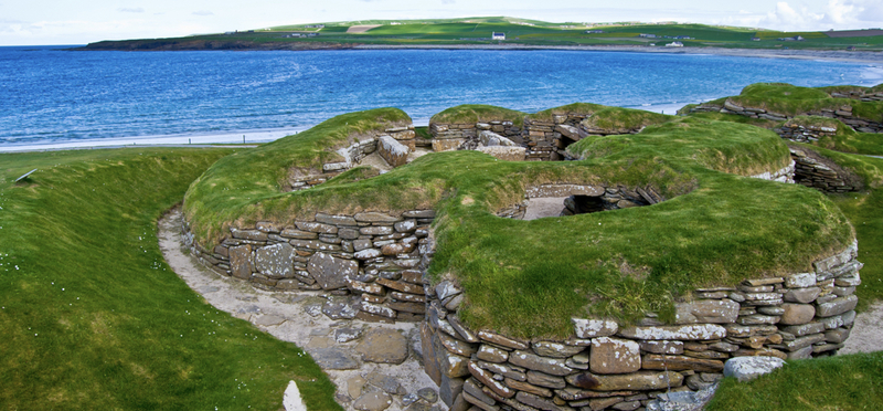 What to do in Scotland during October Half Term Holidays H2 Sea Sun Archeology Grass Rocks