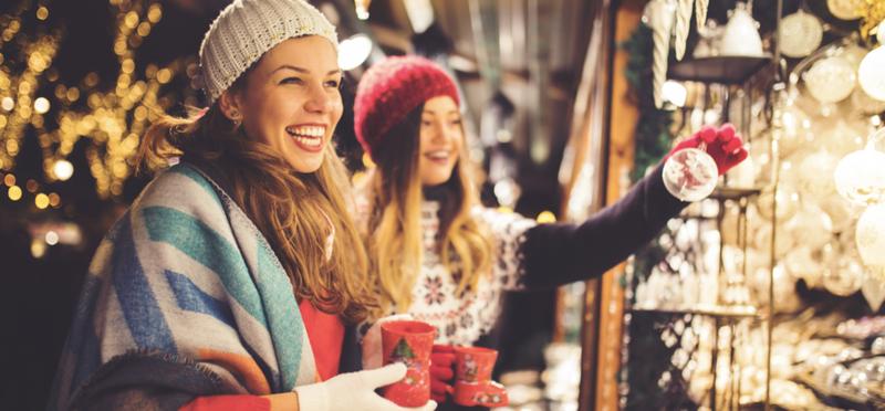 Goboony Scotland Christmas Markets Women Ornament Stall