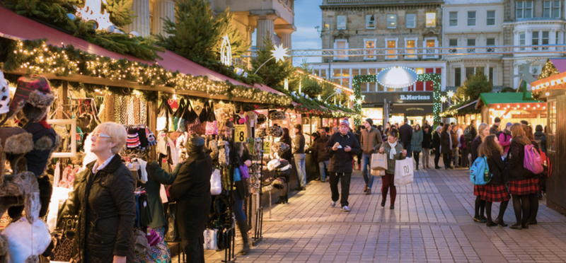 Goboony Scotland Christmas Markets Stalls Shopping Gifts