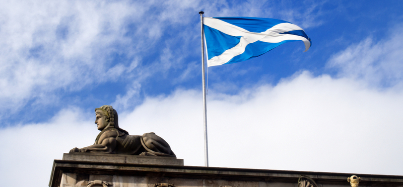 Goboony St Andrew's Day H2 Scotland Flag Sky