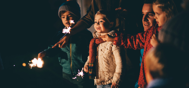 Goboony Bonfire Night H2 Sparklers Kids Children Night