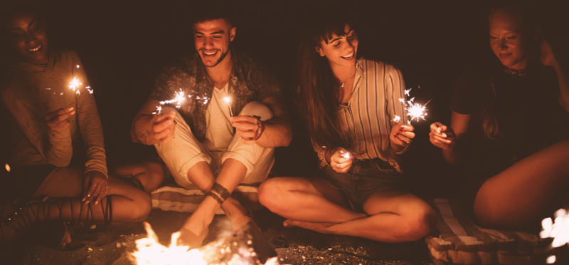 Goboony Bonfire Night H2 Sparklers Campfire Night