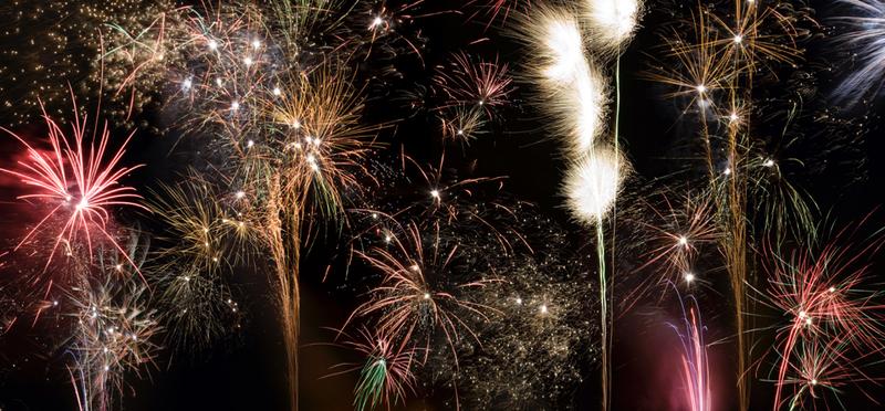 Golden Valley, Derbyshire Fireworks Night Celebration