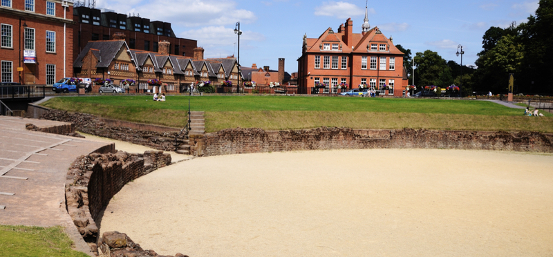 Goboony English Heritage H2 Chester Roman Amphitheatre