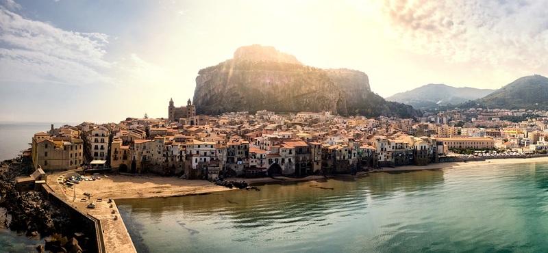 Road Trip in Sicily H2 Goboony Sun Quaint Village Cefalu Italy