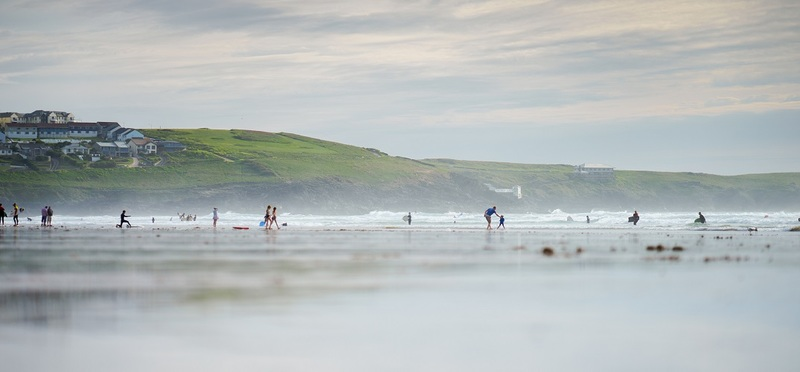 Surfing Holidays in Cornwall H2 Goboony Nature Beach Sea Surfers Kids
