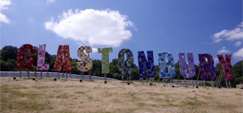 Goboony Glastonbury Festival Campervan Somerset H2 Motorhome England