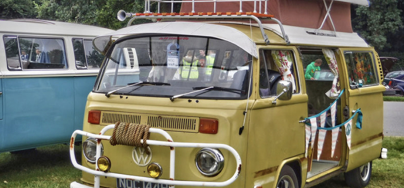 Goboony Glastonbury Festival Campervan Somerset H2 Motorhome