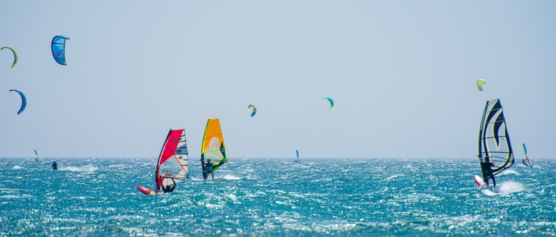 Windsurfing Holidays in the UK & Europe H2 Goboony Windsurf Sky Sea Surf Kite Wind