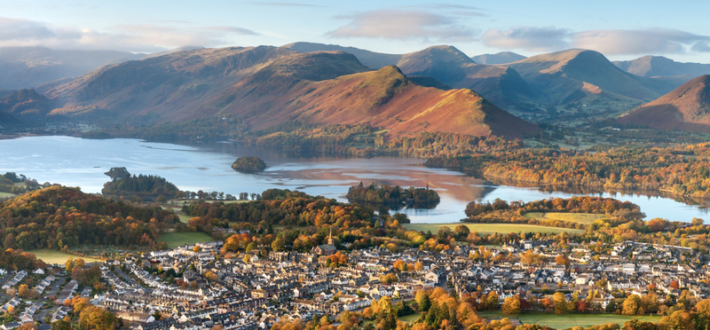 Goboony Lake district hiking routes Keswick