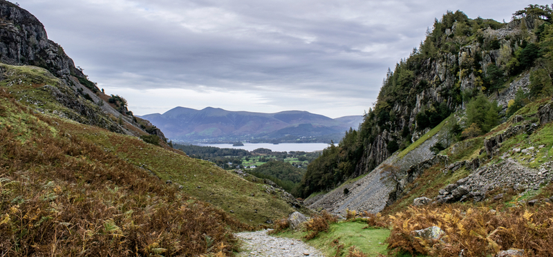 Goboony Lake District Hiking Routes Castle Crag