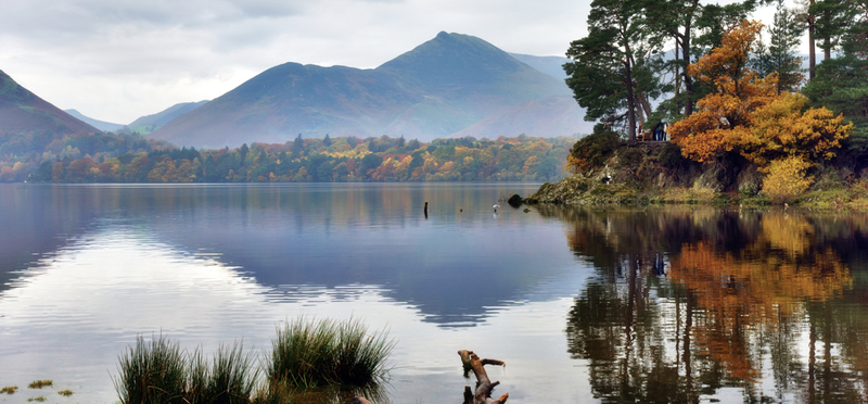 Goboony Lake district hiking routes Friar's Crag
