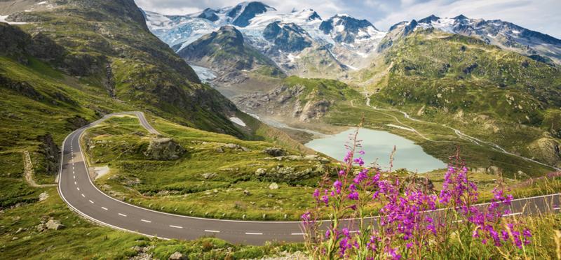 Goboony Switzerland H2 Toll Road Mountain Nature Swiss
