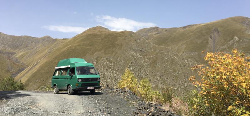 Goboony met camper naar Centraal Azie