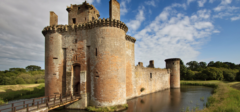 Goboony Dumfries Galloway Scotland H2 Caerlaverock Castle