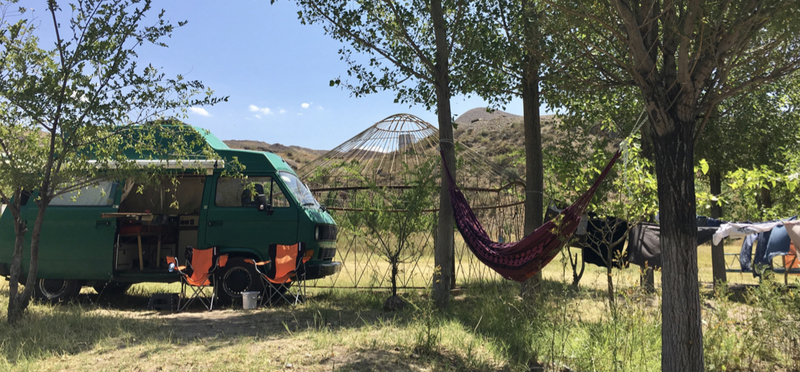 Goboony Central Asia Road Trip Campervan H2 Wild Camping