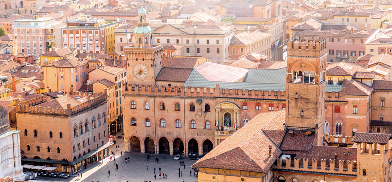 Best Campsites in Italy H2 Goboony Beautiful Bologna City Sunny