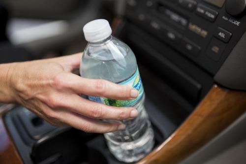 Water in camper