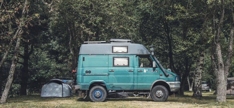 Goboony Van Life H2 Living Campervan Motorhome Forest