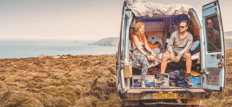 Goboony Living Van Campervan Motorhome H2 Couple Sea