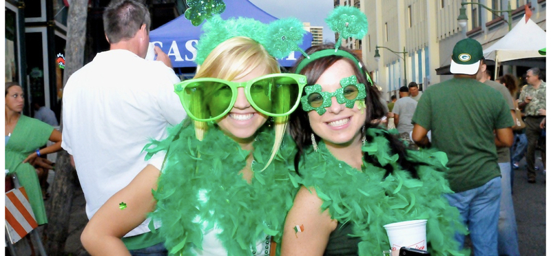 Goboony St Patrick's Day H2 Paddy Patty Girls Green Ireland Irish