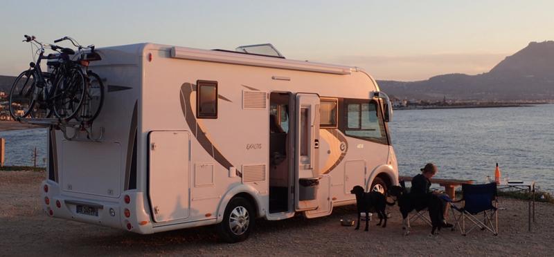 Goboony met camper naar kroatie