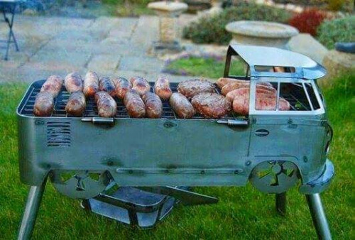 Camper barbeque