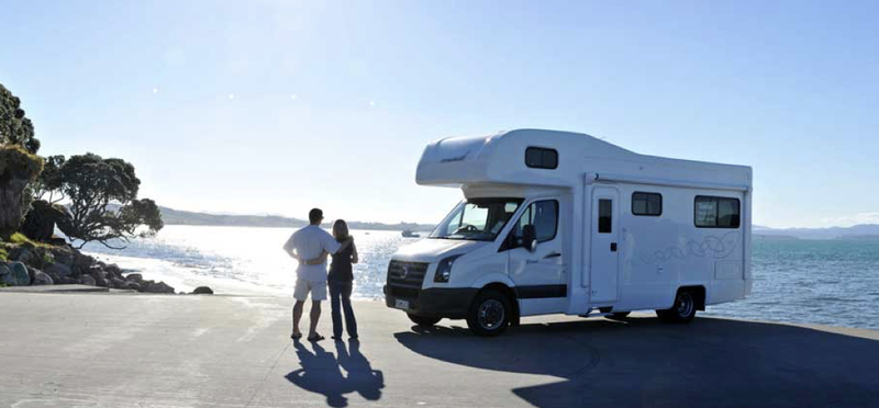 Goboony Motorhome Valentine's Day H2 Couple Romantic Campervan Camping Sea