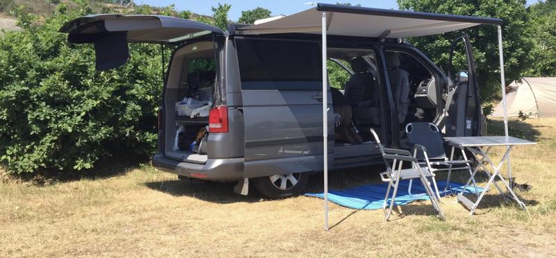 Goboony Campervan Campfire Trip H2 Van Motorhome Camping