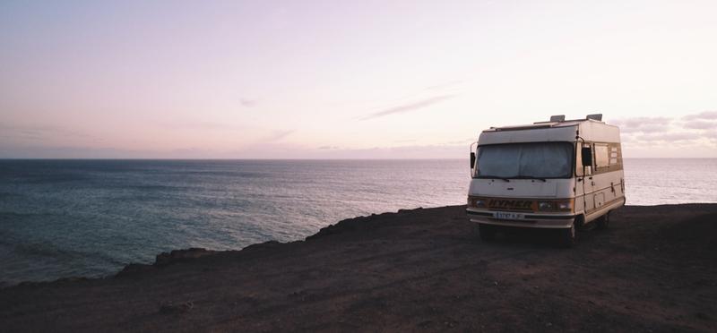 Goboony Motorhome Campervan Van H2 Mountain Sea Ocean Camping