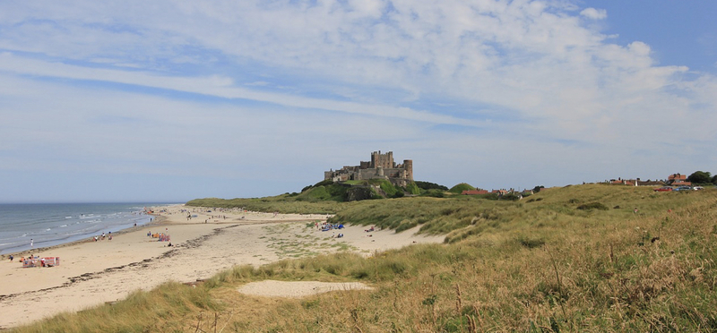 Goboony Bamburgh Castle Coast H2 Northumberland Beach