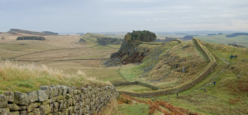 Goboony Hadrian's Wall H2 View Northumberland