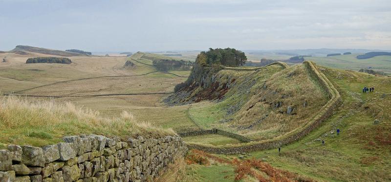 Goboony Hadrian's Wall H2 View Northumberland