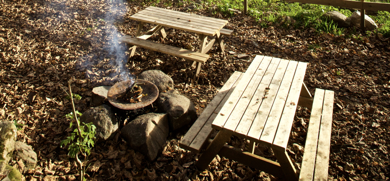 Goboony Campsites Scotland Camping H2 Picnic Campfire
