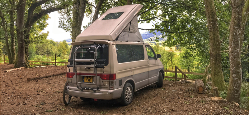 Goboony Campsites Scotland Camping H2 Motorhome Campervan