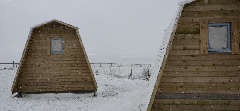Goboony Scotland Campsite Camping H2 Pod Cabin