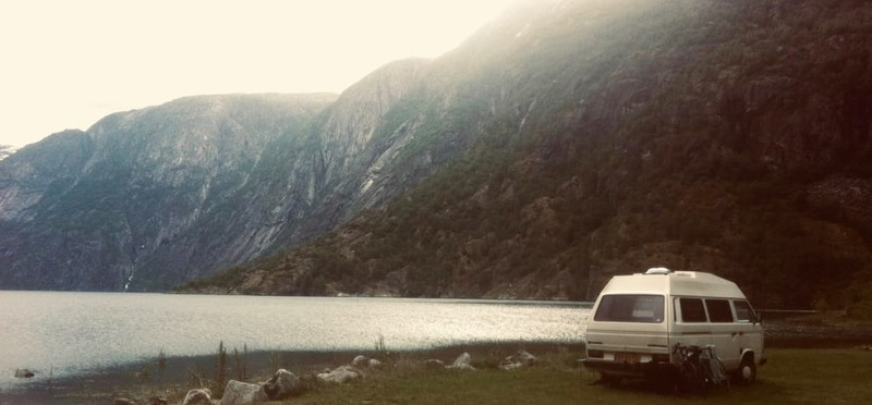 Goboony met de camper naar Oostenrijk campingplaats meer