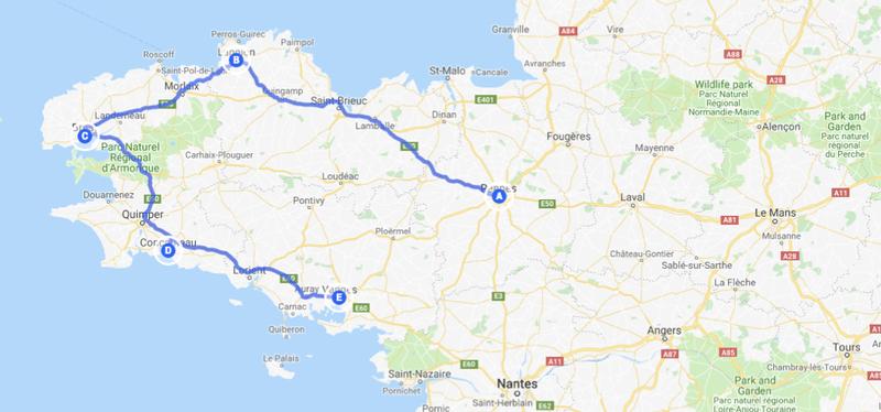Goboony-_Bretagna_in_Camper-_Map