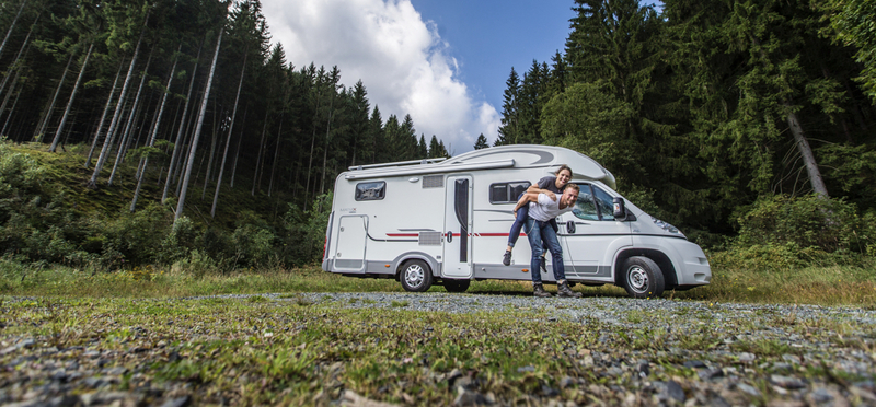 Goboony Honeymoon Destinations England H2 Motorhome Couple