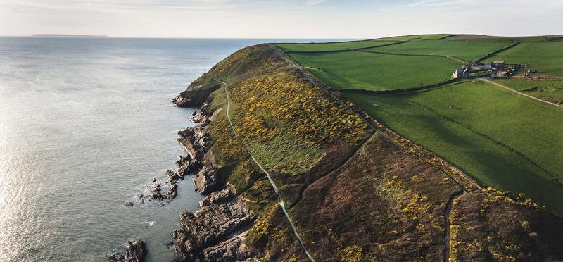Goboony Honeymoon Destinations England H2 Devon Sea Cliffs