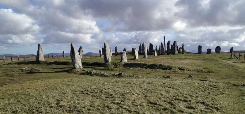 Goboony Scotland Honeymoon Campervan H2 Calanais Standing Stones Lewis
