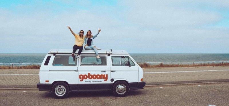 Goboony met de camper naar Texel camper aan de kust