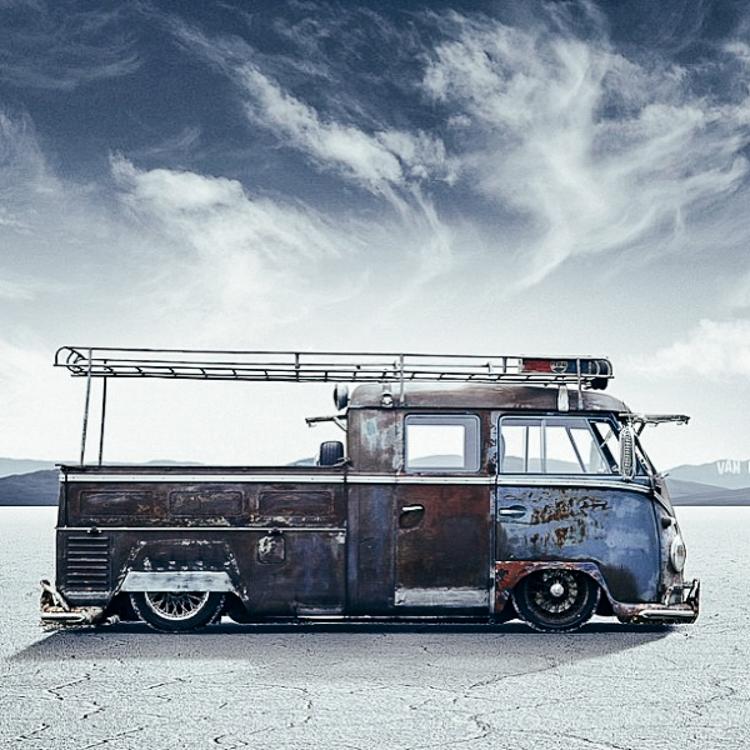 Volkswagenbusje oud