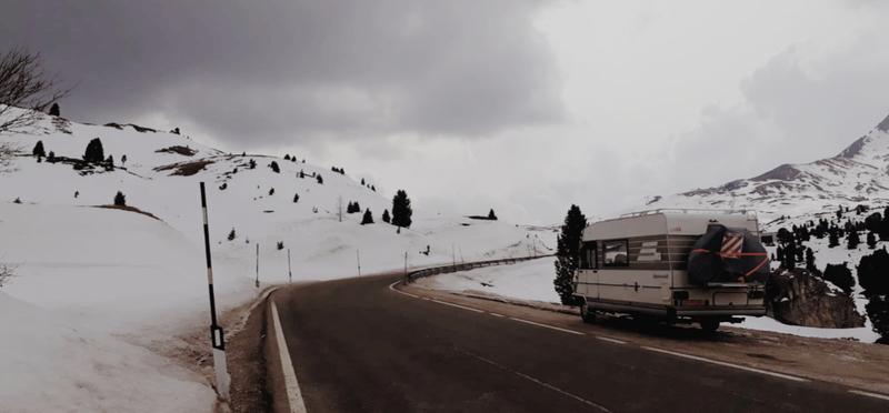 Goboony Guus en Sandra wintersport Italië