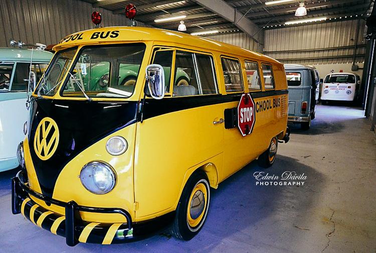 Volkswagenbusje schoolbus