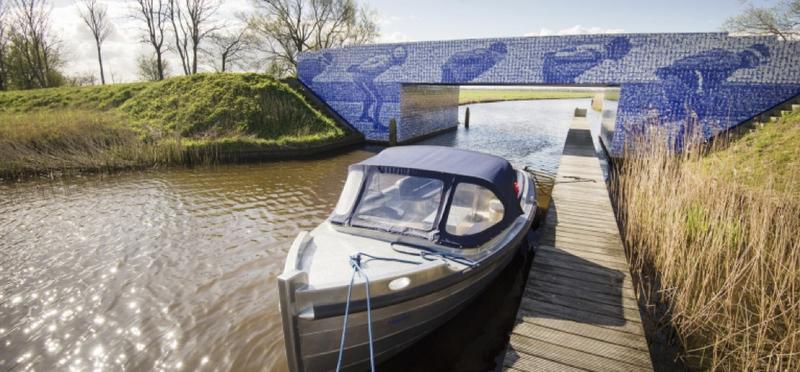 Goboony met de camper naar Friesland bruggetje