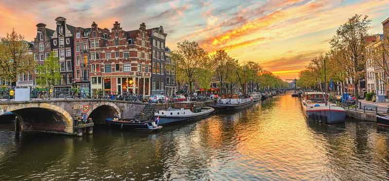 Goboony Camperplaats Amsterdam gracht