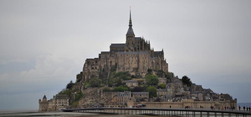 Goboony Lex Saskia Leren Zwaaien Mont Saint Michel