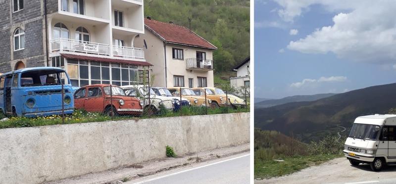 Goboony Guus en Sandra Bosnië VW auto's